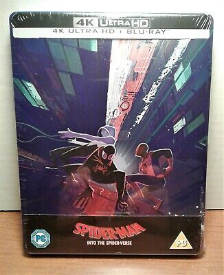 Spider-Man: Into the Spider-Verse [SteelBook] [4K+Blu-ray] NEW - LAST COPY!!!