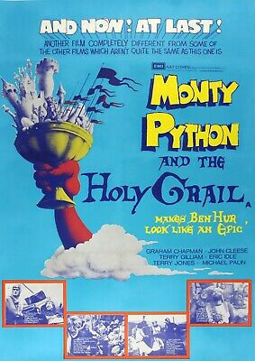 Monty Python And The Holy Grail Movie Film Photo Print Poster Picture
