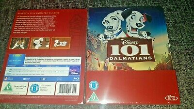 Disney Pixar' 101 Dalmatians Blu-Ray Zavvi UK Limited Edition Steelbook New&Seal