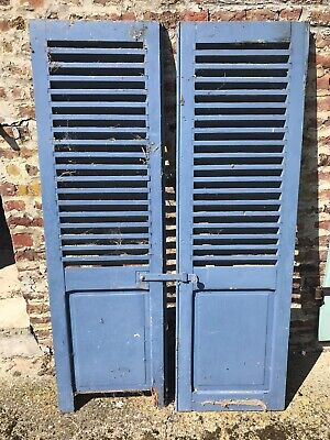 Vintage French Window Shutters