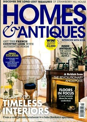 Homes & Antiques Magazine Issue October 2018 ~ New ~