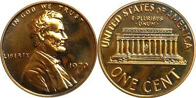 1970-S 1C Lincoln Cent Small Date Proof