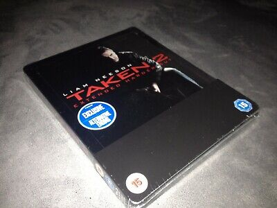 Steelbook Blu Ray Taken 2 / Harder Cut / Theatrical And Extented Version / Neuf