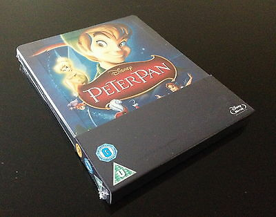 Steelbook Blu Ray Peter Pan // Audio Fr // Neuf // Disney // Edition Zavvi
