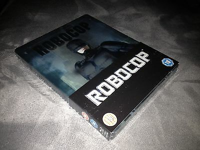 Steelbook Blu Ray Robocop Edition Uk Blu Ray+Dvd Neuf // New And Sealed