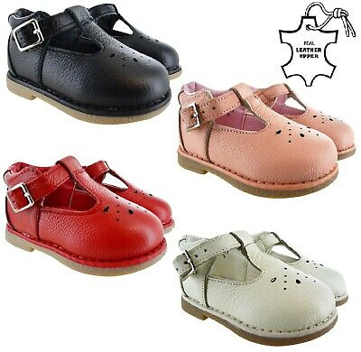 Baby Toddler Kids Smart Wedding Party School Shoes Girls Infants Childrens Shoes