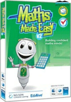 Maths Made Easy v2 (all 6 levels) School Version (2 users)