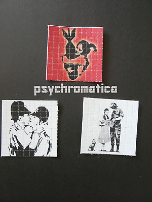 LSD BLOTTER ART | BICYCLE DAY SALE!! | Banksy - 3 x mini sheets | Heavyweight
