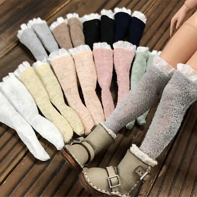 3Pairs Socks Lace Stocking For Licca Azone  s Blythe 1/6 Doll Accessories HV