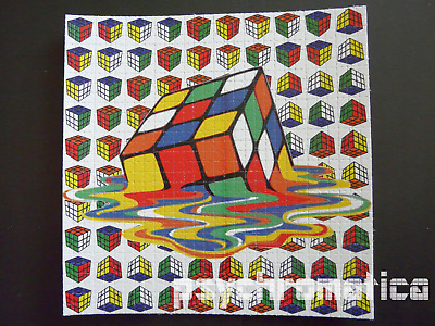 LSD BLOTTER ART || BICYCLE DAY SALE!! || Rubik's Cube  ||  Heavyweight