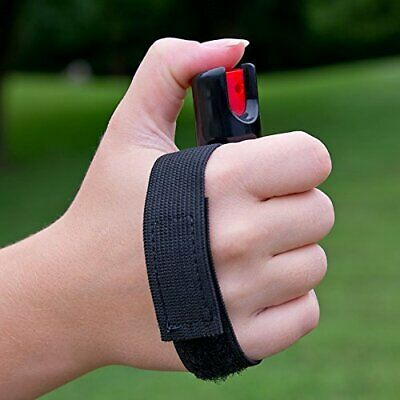 SABRE 3-IN-1 Pepper Spray - Advanced Police Strength - for Runners, Walkers