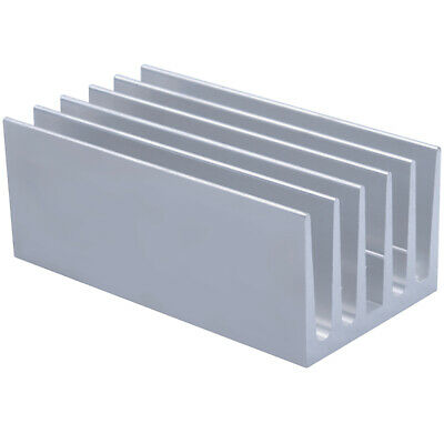 100*53*40mm Anodized Aluminium Heat Sink For Power Transistor/TO-126/TO-220/CPU