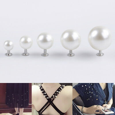 Pearl rivets button for cloth pant hat bag DIY`crafts decor garment scrapbookiHV