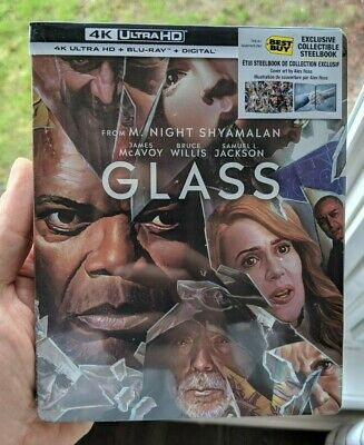 Glass - Limited Edition Best Buy Exclusive Steelbook (Blu-ray + 4K UHD) NEW!!