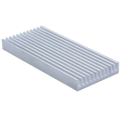 100*45*10mm Anodized Aluminium Heat Sink For Power Transistor/TO-126/TO-220
