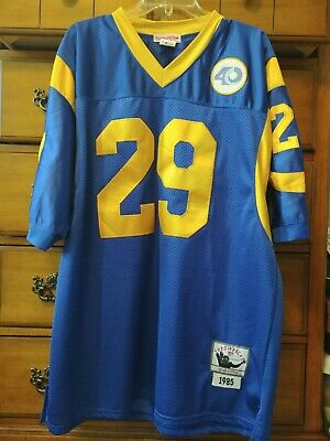 64025e45 MITCHELL & NESS Eric Dickerson Los Angeles Rams Royal Throwback 40th ...
