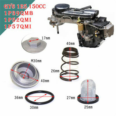GY6 50cc to 150cc 125/150 Engine Parts Plug Moped Oil Filter Drain Screw  HV