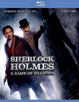 Sherlock Holmes: A Game of Shadows (Blu-ray/DVD, 2012, 2-Disc Set, Includes...
