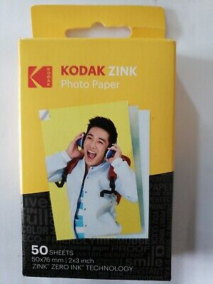 Kodak ZINK Sticky Back Photo Paper (50 2x3 Sheets) - NEW! FREE SHIPPING!!