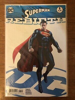 Superman Rebirth #1 DC Comics (2016) VF/NM Unopened Bagged And Boarded