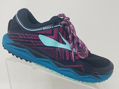 6d814a3a618 Brooks Caldera 2 Womens Trail Running Shoe Size 9.5 Purple Training Sneaker