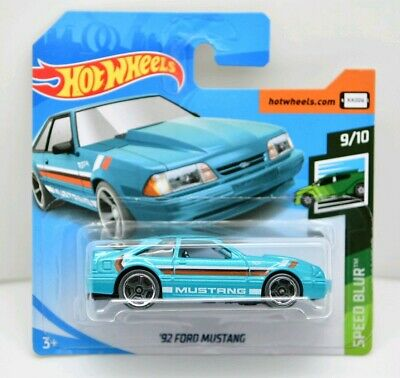 HOT WHEELS '92 FORD MUSTANG Série Speed Blur n°9/10 - 2019 - n°152/250