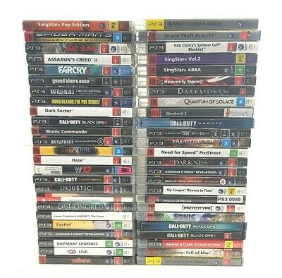 Sony Playstation 3 Games - LIKE NEW - Pick your Titles - Free Postage