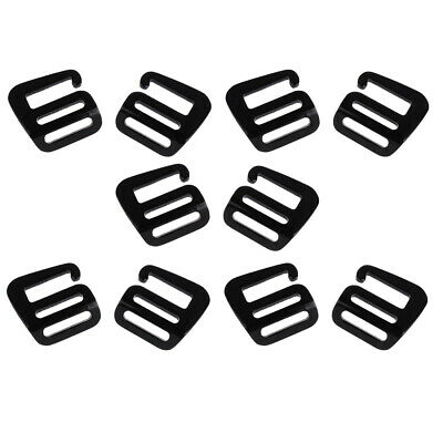 2pcs Sturdy Metal G Hook Webbing Quick Release Buckle For Backpack