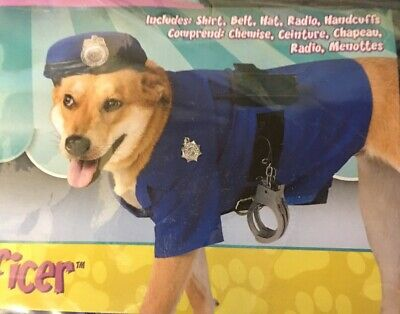 Rubie's Official Police Pet Dog Costume Medium