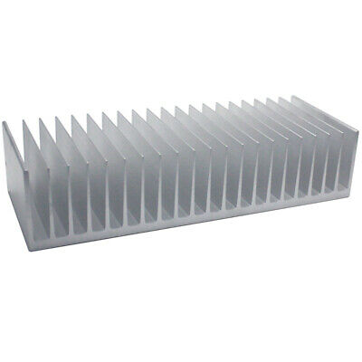 100*262*60mm Anodized Aluminium Heat Sink For CPU Power Transistor TO-126 TO-220