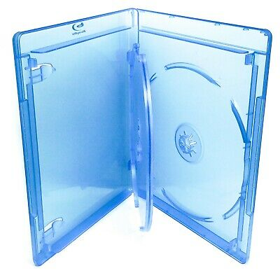 Empty 3-Disc Blu Ray Replacement Case 12mm - Three Disc Blu-Ray Triple Case