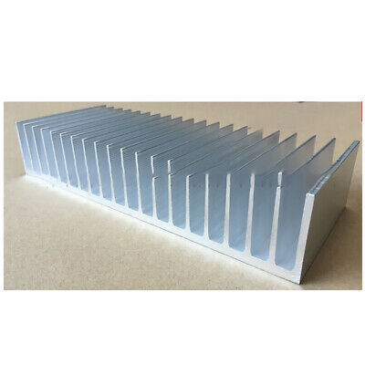 100*254*49mm Anodized Aluminium Heat Sink For CPU Power Transistor TO-126 TO-220