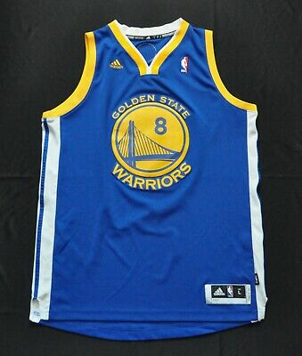8f189e56a90 MONTA ELLIS Golden State Warriors Adidas Swingman Jersey REV30 Blue Mens  LARGE