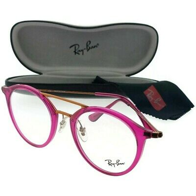 RAY BAN Eyeglasses RX7097-5631-49 Size 49mm/21mm/145mm BRAND NEW W CASE