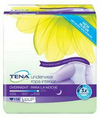 TENA Overnight Pull On Large Disp. Heavy Absorb. Adult Absorb. Underwear