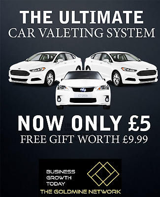 THE ULTIMATE CAR VALETING SYSTEM **Plus a FREE GIFT WORTH £19.99**