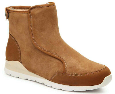 b6c82dfd71f UGG WOMEN'S LAURELLE Genuine Shearling Lined Winter Ankle Boot Chestnut  Size 6