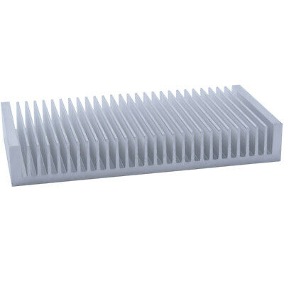 100*200*30mm Anodized Aluminium Heat Sink For CPU Power Transistor TO-126 TO-220