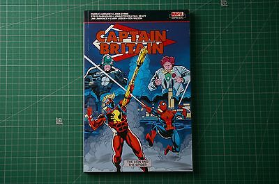 Captain Britain: The Lion and the Spider [Marvel] - J Byrne: 1st 2009 PB VGC+