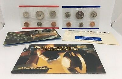 1995 United States Mint Uncirculated Coin Set P & D