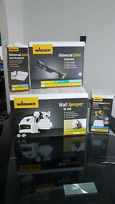 Wagner w500 electric paint sprayer plus accessories