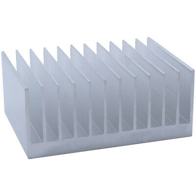 100*140*60mm Anodized Aluminium Heat Sink For CPU Power Transistor TO-126 TO-220