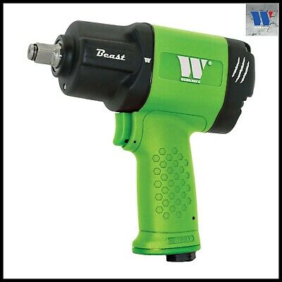 "Werkzeug - Impact Gun 1982 Nm ""The BEAST"" Only 1.65 Kg, 9000 RPM - GREEN"