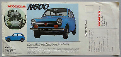 V02963 Honda N600 - S800 Coupe - S800 Racing - S800 Cabrio