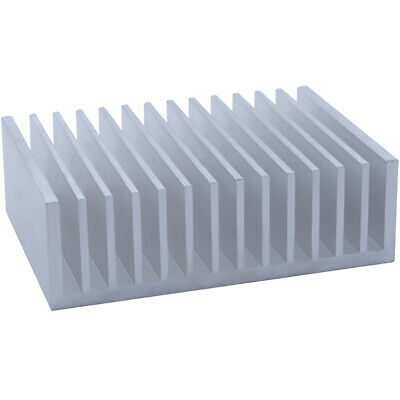 100*140*44mm Anodized Aluminium Heat Sink For CPU Power Transistor TO-126 TO-220