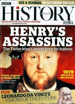 Bbc History Magazine May 2019 ~ Henry's Assasins ~ 1979 Britain In Meltdown ~