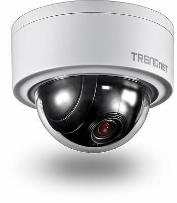 TRENDnet TV-IP420P - Cámara de Red motorizada PTZ (3 MP, 16x Enfoque, H.265),...