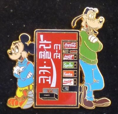 PINS GROS ET GRAND PIN'S COCA COLA,DISNEY, MICKEY, DINGO,5,5cm de HAUT