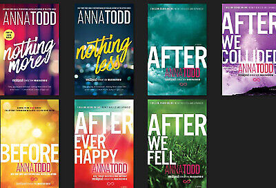 After Series (1-7) by Anna Todd [E. B00K] SAME DAY DELIVREY