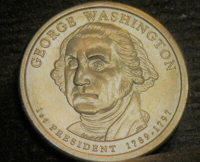 Presidential One dollar;George Washington coin;circulated 2007 P;FREE Shipping